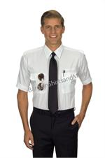 Pilot - TAPERED Pilot Shirts Short Sleeve Pilot Shirts with Eyelets